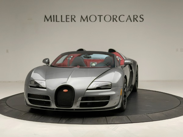 Used 2013 Bugatti Veyron 16.4 Grand Sport Vitesse for sale Call for price at Rolls-Royce Motor Cars Greenwich in Greenwich CT 06830 2