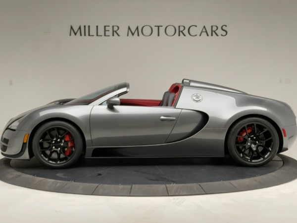 Used 2013 Bugatti Veyron 16.4 Grand Sport Vitesse for sale Call for price at Rolls-Royce Motor Cars Greenwich in Greenwich CT 06830 3