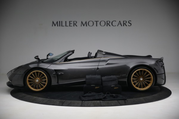 Used 2017 Pagani Huayra Roadster for sale Call for price at Rolls-Royce Motor Cars Greenwich in Greenwich CT 06830 19