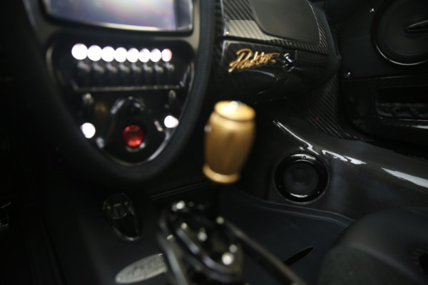 Used 2017 Pagani Huayra Roadster for sale Call for price at Rolls-Royce Motor Cars Greenwich in Greenwich CT 06830 28
