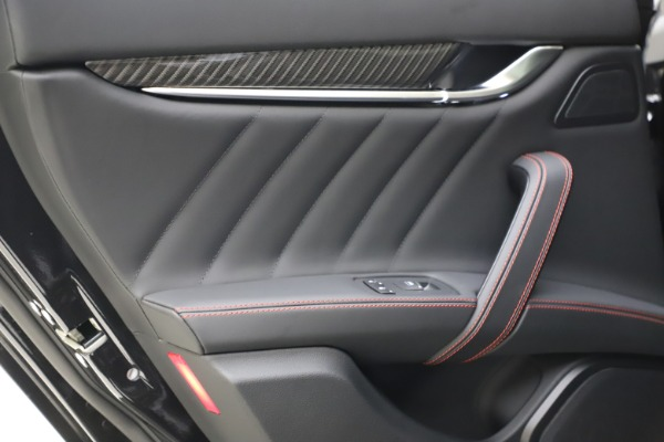 New 2021 Maserati Ghibli S Q4 GranSport for sale $100,285 at Rolls-Royce Motor Cars Greenwich in Greenwich CT 06830 21