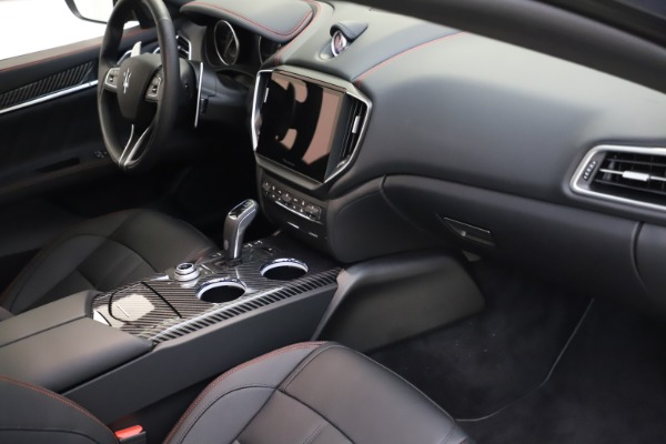 New 2021 Maserati Ghibli S Q4 GranSport for sale $100,285 at Rolls-Royce Motor Cars Greenwich in Greenwich CT 06830 22