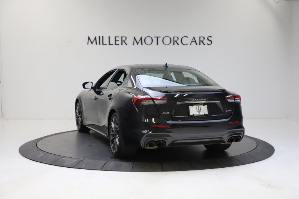 New 2021 Maserati Ghibli S Q4 GranSport for sale $100,285 at Rolls-Royce Motor Cars Greenwich in Greenwich CT 06830 6