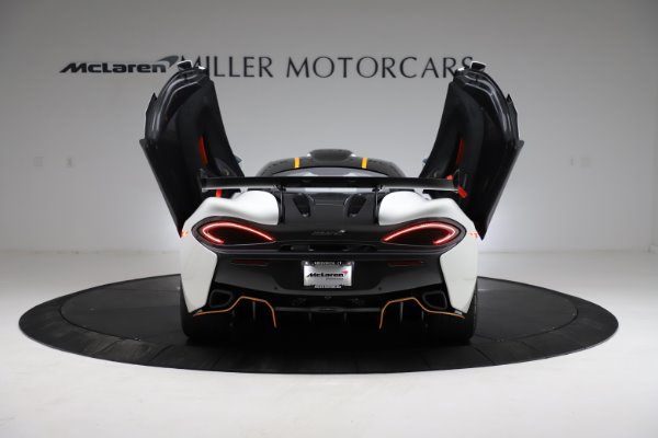 New 2020 McLaren 620R for sale Call for price at Rolls-Royce Motor Cars Greenwich in Greenwich CT 06830 13