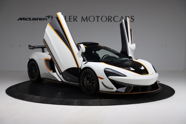 New 2020 McLaren 620R for sale Call for price at Rolls-Royce Motor Cars Greenwich in Greenwich CT 06830 15