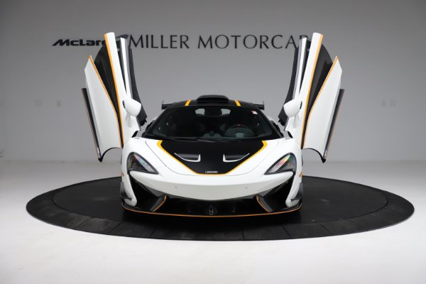 New 2020 McLaren 620R for sale Call for price at Rolls-Royce Motor Cars Greenwich in Greenwich CT 06830 16