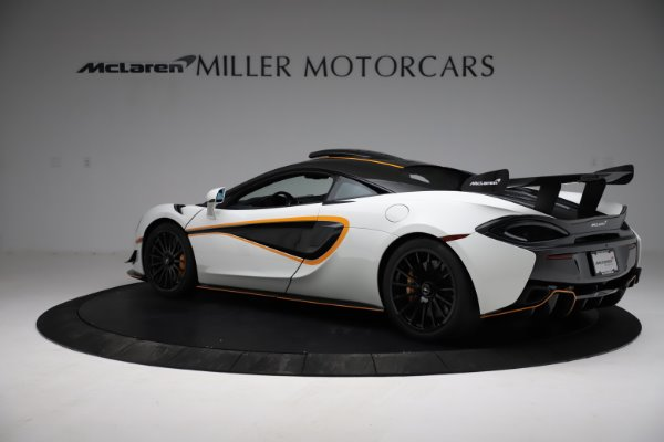 New 2020 McLaren 620R for sale Call for price at Rolls-Royce Motor Cars Greenwich in Greenwich CT 06830 4