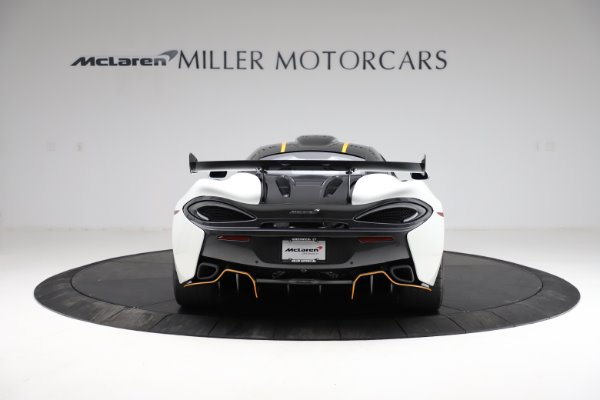 New 2020 McLaren 620R for sale Call for price at Rolls-Royce Motor Cars Greenwich in Greenwich CT 06830 5