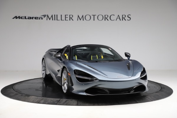 New 2021 McLaren 720S Spider for sale $351,450 at Rolls-Royce Motor Cars Greenwich in Greenwich CT 06830 10