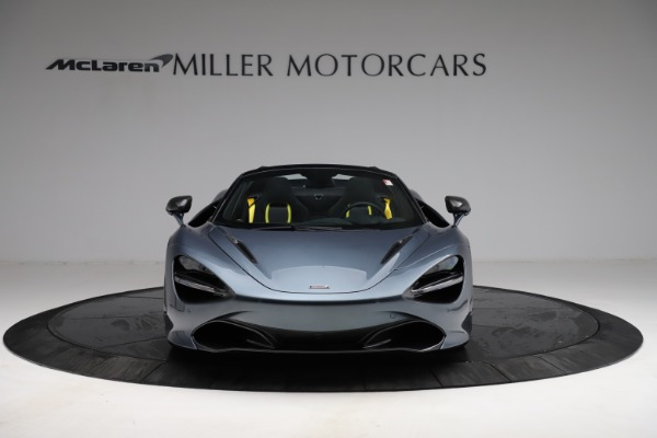 New 2021 McLaren 720S Spider for sale $351,450 at Rolls-Royce Motor Cars Greenwich in Greenwich CT 06830 11