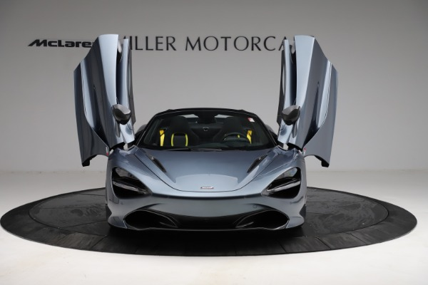 New 2021 McLaren 720S Spider for sale $351,450 at Rolls-Royce Motor Cars Greenwich in Greenwich CT 06830 12