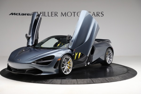 New 2021 McLaren 720S Spider for sale $351,450 at Rolls-Royce Motor Cars Greenwich in Greenwich CT 06830 13