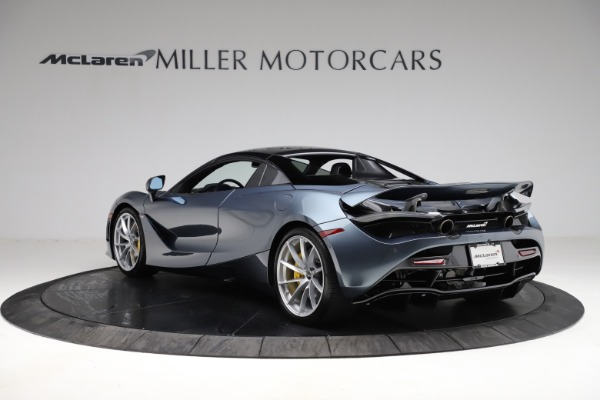 New 2021 McLaren 720S Spider for sale $351,450 at Rolls-Royce Motor Cars Greenwich in Greenwich CT 06830 16