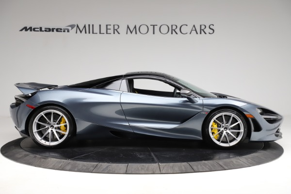 New 2021 McLaren 720S Spider for sale $351,450 at Rolls-Royce Motor Cars Greenwich in Greenwich CT 06830 19