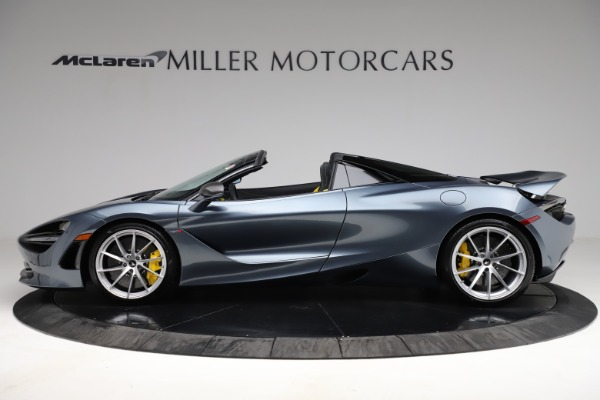 New 2021 McLaren 720S Spider for sale $351,450 at Rolls-Royce Motor Cars Greenwich in Greenwich CT 06830 2