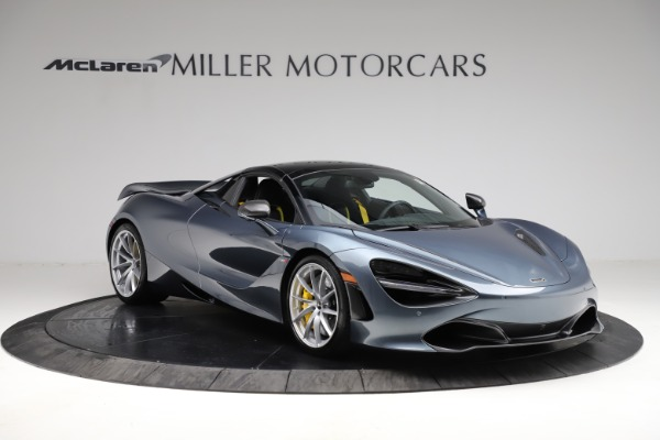 New 2021 McLaren 720S Spider for sale $351,450 at Rolls-Royce Motor Cars Greenwich in Greenwich CT 06830 20