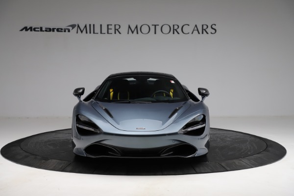 New 2021 McLaren 720S Spider for sale $351,450 at Rolls-Royce Motor Cars Greenwich in Greenwich CT 06830 21