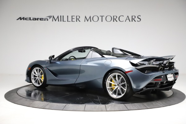 New 2021 McLaren 720S Spider for sale $351,450 at Rolls-Royce Motor Cars Greenwich in Greenwich CT 06830 3