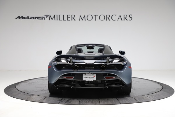 New 2021 McLaren 720S Spider for sale $351,450 at Rolls-Royce Motor Cars Greenwich in Greenwich CT 06830 5