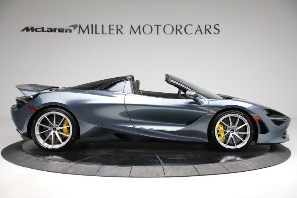 New 2021 McLaren 720S Spider for sale $351,450 at Rolls-Royce Motor Cars Greenwich in Greenwich CT 06830 8