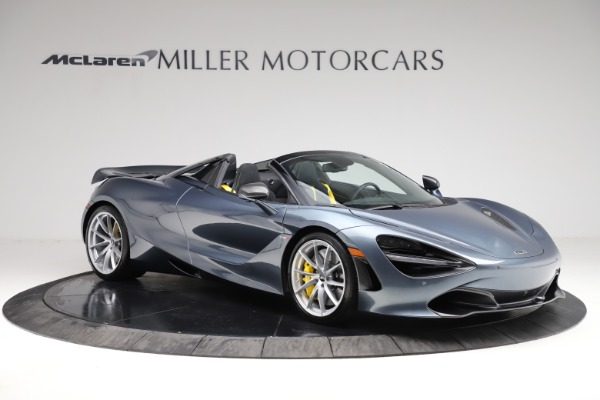 New 2021 McLaren 720S Spider for sale $351,450 at Rolls-Royce Motor Cars Greenwich in Greenwich CT 06830 9