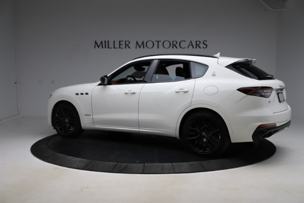 New 2021 Maserati Levante Q4 GranSport for sale $95,835 at Rolls-Royce Motor Cars Greenwich in Greenwich CT 06830 8