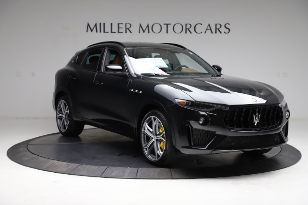New 2021 Maserati Levante GTS for sale $139,585 at Rolls-Royce Motor Cars Greenwich in Greenwich CT 06830 11