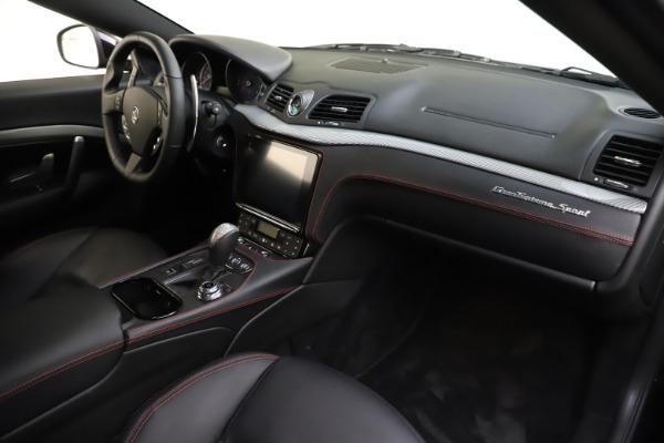 Used 2018 Maserati GranTurismo Sport for sale $89,900 at Rolls-Royce Motor Cars Greenwich in Greenwich CT 06830 18