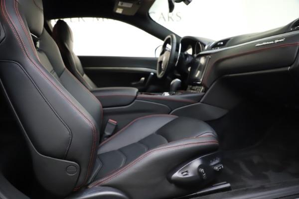 Used 2018 Maserati GranTurismo Sport for sale $89,900 at Rolls-Royce Motor Cars Greenwich in Greenwich CT 06830 19