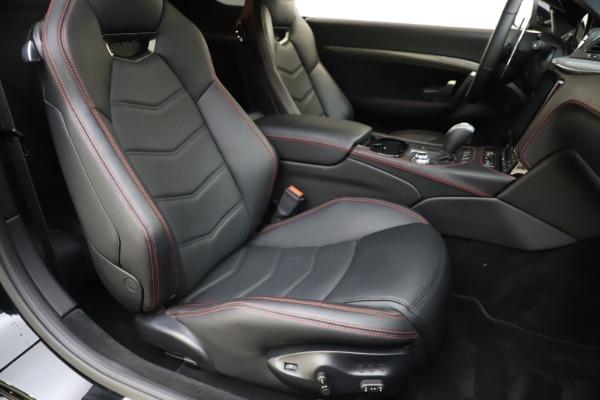 Used 2018 Maserati GranTurismo Sport for sale $89,900 at Rolls-Royce Motor Cars Greenwich in Greenwich CT 06830 20