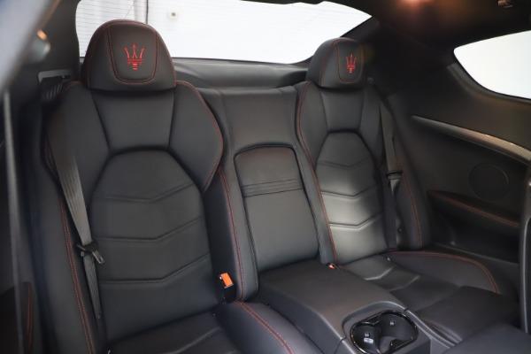 Used 2018 Maserati GranTurismo Sport for sale $89,900 at Rolls-Royce Motor Cars Greenwich in Greenwich CT 06830 22