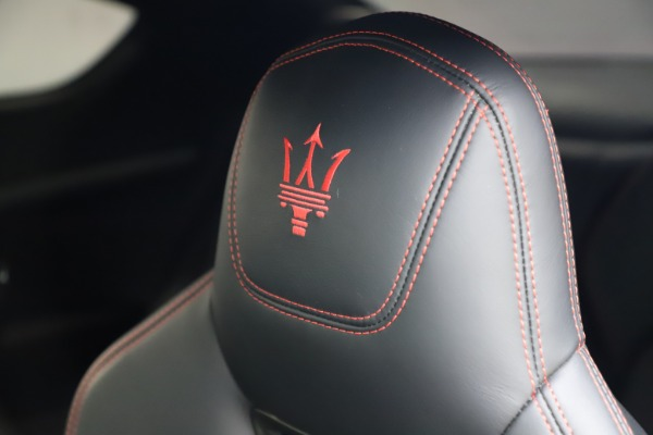 Used 2018 Maserati GranTurismo Sport for sale $89,900 at Rolls-Royce Motor Cars Greenwich in Greenwich CT 06830 28
