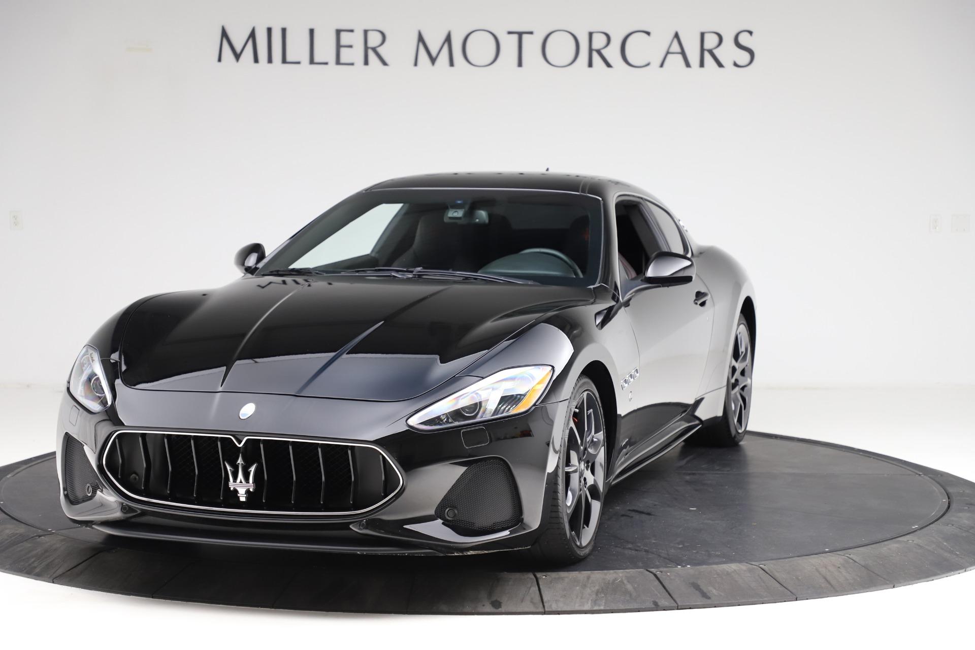 Used 2018 Maserati GranTurismo Sport for sale $89,900 at Rolls-Royce Motor Cars Greenwich in Greenwich CT 06830 1