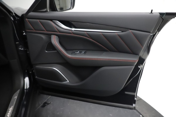 New 2021 Maserati Levante GTS for sale $135,485 at Rolls-Royce Motor Cars Greenwich in Greenwich CT 06830 23