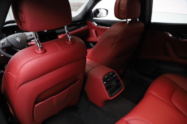 New 2021 Maserati Quattroporte S Q4 GranLusso for sale $122,435 at Rolls-Royce Motor Cars Greenwich in Greenwich CT 06830 18