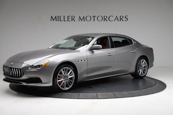 New 2021 Maserati Quattroporte S Q4 GranLusso for sale $122,435 at Rolls-Royce Motor Cars Greenwich in Greenwich CT 06830 2