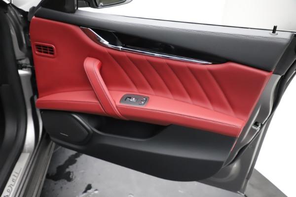New 2021 Maserati Quattroporte S Q4 GranLusso for sale $122,435 at Rolls-Royce Motor Cars Greenwich in Greenwich CT 06830 23
