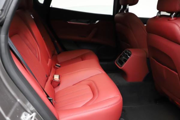 New 2021 Maserati Quattroporte S Q4 GranLusso for sale $122,435 at Rolls-Royce Motor Cars Greenwich in Greenwich CT 06830 24