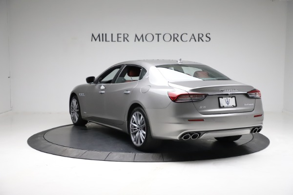 New 2021 Maserati Quattroporte S Q4 GranLusso for sale $122,435 at Rolls-Royce Motor Cars Greenwich in Greenwich CT 06830 5