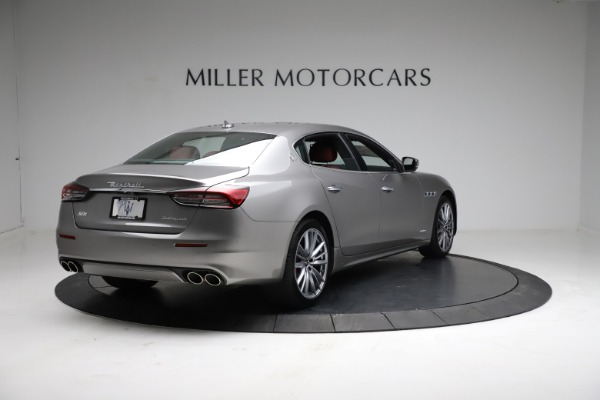 New 2021 Maserati Quattroporte S Q4 GranLusso for sale $122,435 at Rolls-Royce Motor Cars Greenwich in Greenwich CT 06830 7