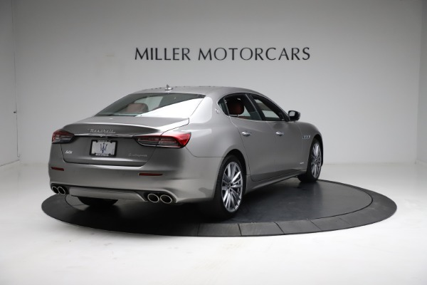 New 2021 Maserati Quattroporte S Q4 GranLusso for sale $122,435 at Rolls-Royce Motor Cars Greenwich in Greenwich CT 06830 8