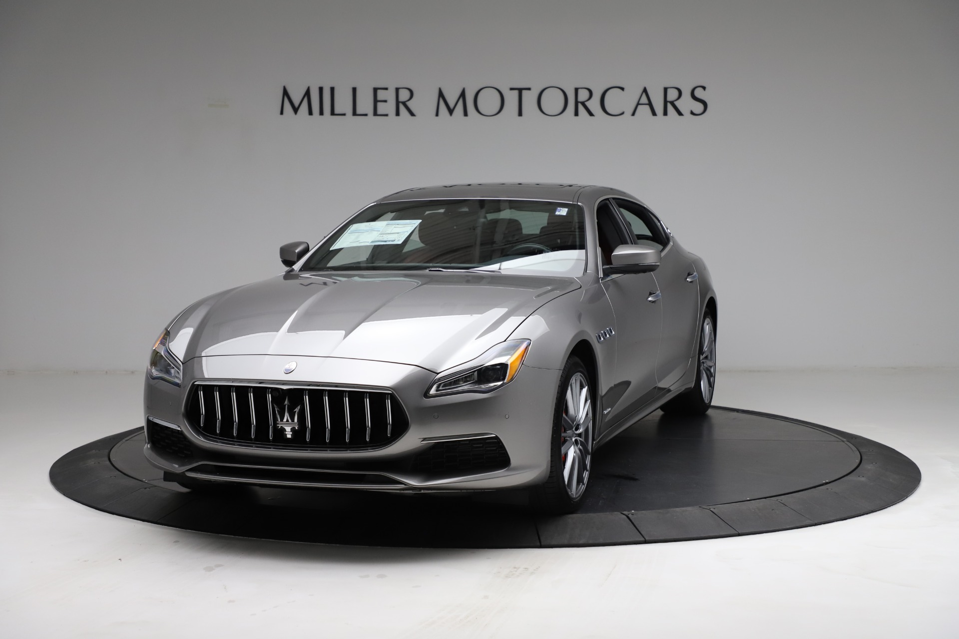 New 2021 Maserati Quattroporte S Q4 GranLusso for sale $122,435 at Rolls-Royce Motor Cars Greenwich in Greenwich CT 06830 1