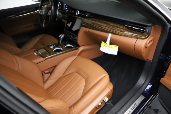 New 2021 Maserati Quattroporte S Q4 for sale Sold at Rolls-Royce Motor Cars Greenwich in Greenwich CT 06830 22