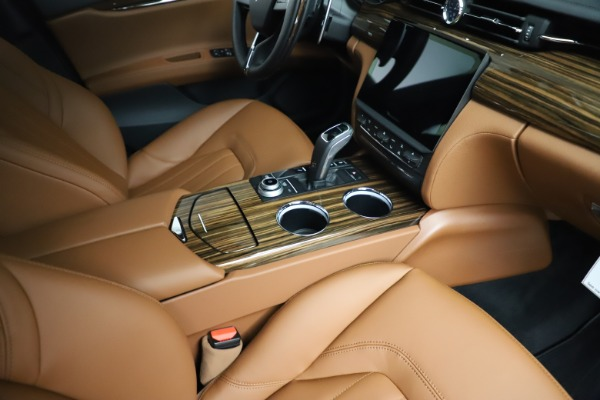 New 2021 Maserati Quattroporte S Q4 for sale Sold at Rolls-Royce Motor Cars Greenwich in Greenwich CT 06830 23