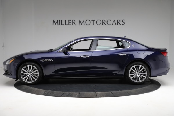 New 2021 Maserati Quattroporte S Q4 for sale Sold at Rolls-Royce Motor Cars Greenwich in Greenwich CT 06830 3