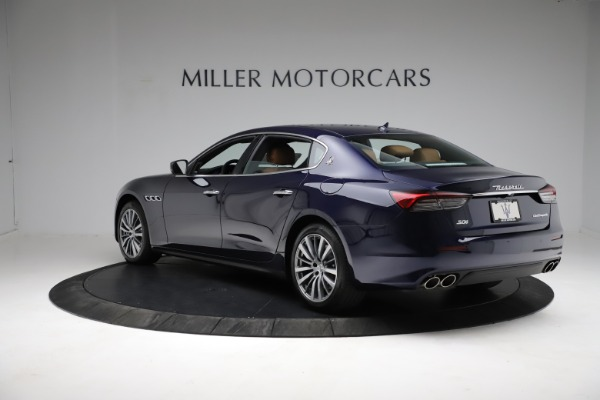 New 2021 Maserati Quattroporte S Q4 for sale Sold at Rolls-Royce Motor Cars Greenwich in Greenwich CT 06830 5