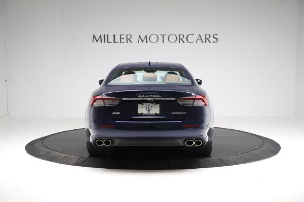 New 2021 Maserati Quattroporte S Q4 for sale Sold at Rolls-Royce Motor Cars Greenwich in Greenwich CT 06830 6