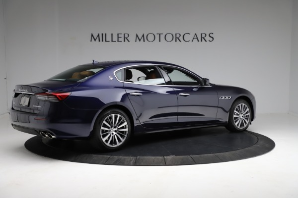 New 2021 Maserati Quattroporte S Q4 for sale Sold at Rolls-Royce Motor Cars Greenwich in Greenwich CT 06830 8