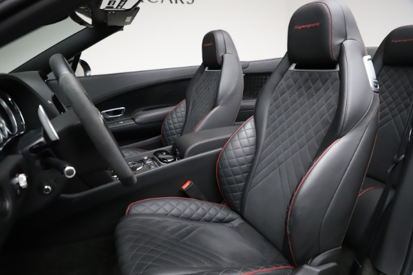Used 2018 Bentley Continental GT Supersports for sale $229,900 at Rolls-Royce Motor Cars Greenwich in Greenwich CT 06830 26