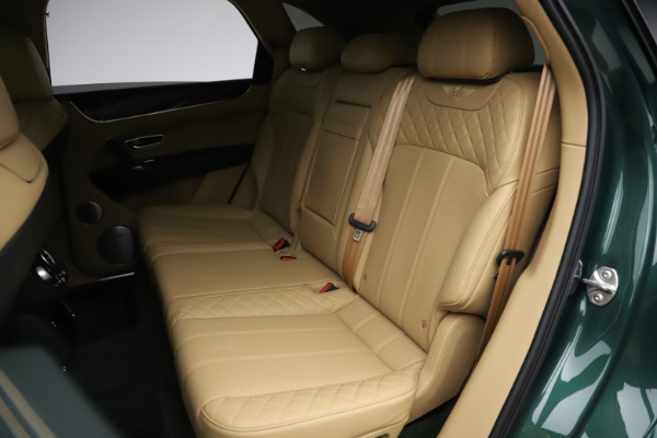 Used 2018 Bentley Bentayga W12 Signature for sale $159,900 at Rolls-Royce Motor Cars Greenwich in Greenwich CT 06830 22